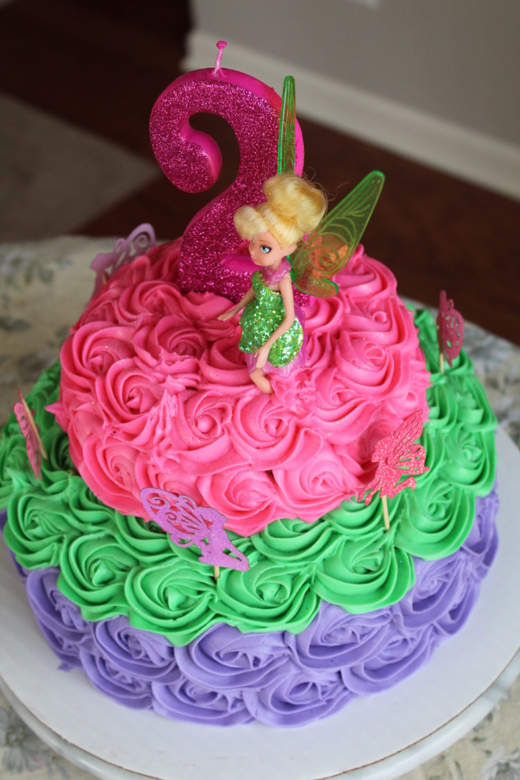 Tinkerbell birthday cake - Recipes Inspired by Mom