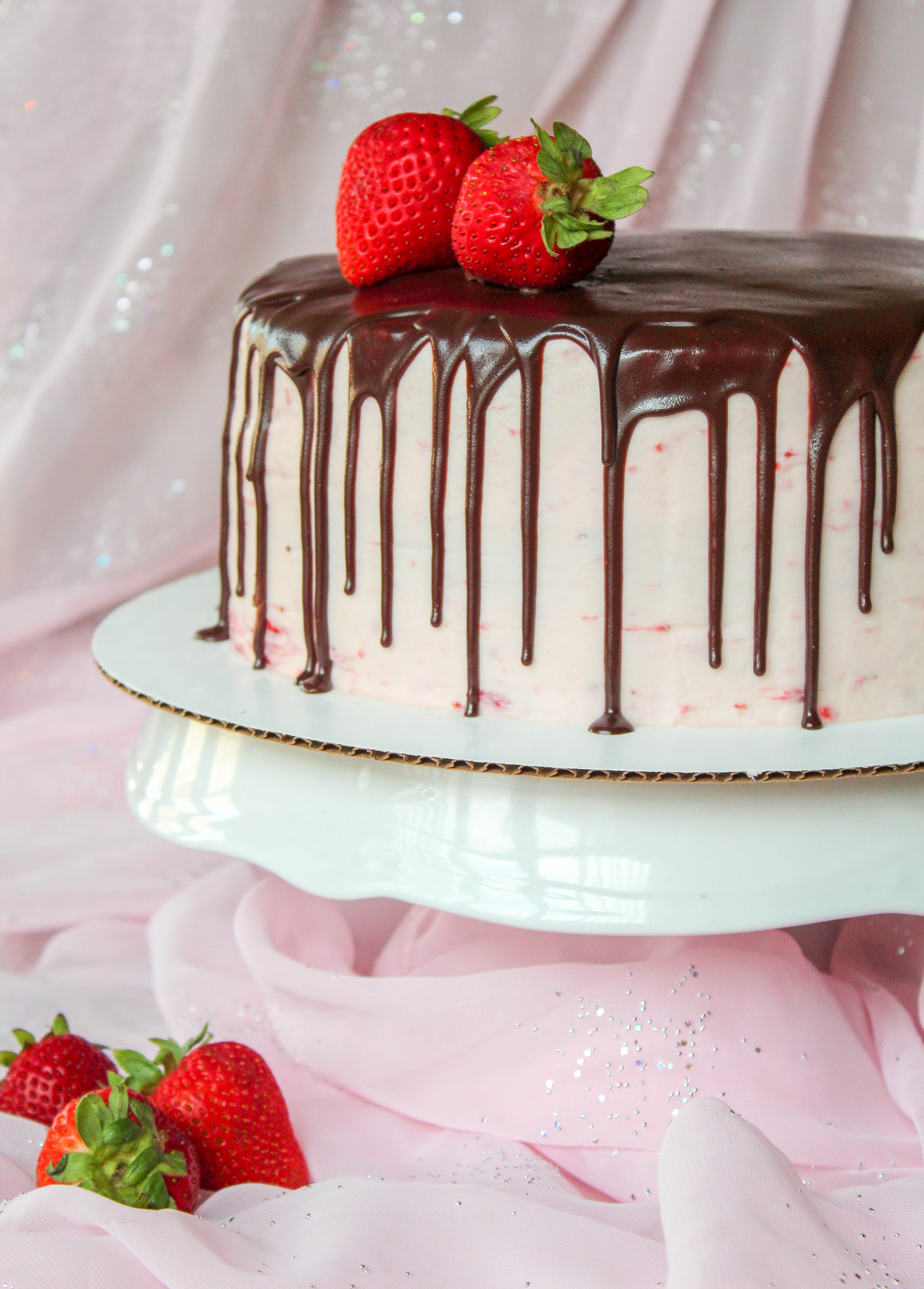 Chocolate Covered Strawberry Cake Recipes Inspired By Mom